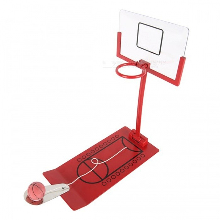 Mini Foldable Basketball Toy Stress Release Board Game - RedTable Games<br>Form  ColorRedMaterialMetalQuantity1 DX.PCM.Model.AttributeModel.UnitMin-player1Suitable Age 5-7 years,8-11 years,12-15 years,Grown upsPacking List1 x Toy<br>