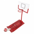 Mini Foldable Basketball Toy Stress Release Board Game - Red
