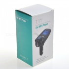 T11 Bil Bluetooth MP3 Handsfree FM-sändare - Svart