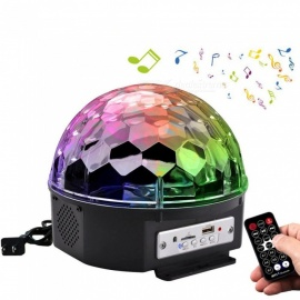 YouOKLight 6-Color LED Rotate Music Bulb with Remote Control (US Plug)