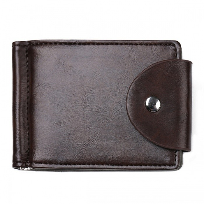 JIN BAO LAI Folded Leather Wallet with Coin Pocket for Men - Deep BrowWallets and Purses<br>Form  ColorDeep BrownModelMSB008#Quantity1 pieceShade Of ColorBrownMaterialLeatherGenderMenSuitable forAdultsOpeningHaspStyleFashionWallet Dimensions12*8*1Other Features2 fold slots, 2 card slots, 1 currency slots, 1 photo slotPacking List1 x Wallet<br>