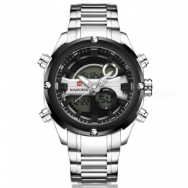 NaviForce-9088-Mens-Sports-Metal-Wrist-Quartz-Watch