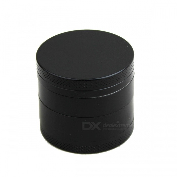 Buy 40mm 4-Layer Zinc Alloy Grinder - Black with Litecoins with Free Shipping on Gipsybee.com