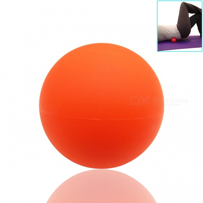 Massage Lacrosse Balls for Myofascial Release Trigger Point TherapyForm  ColorOrangeQuantity1 DX.PCM.Model.AttributeModel.UnitMaterialSolid RubberPacking List1 x Ball<br>