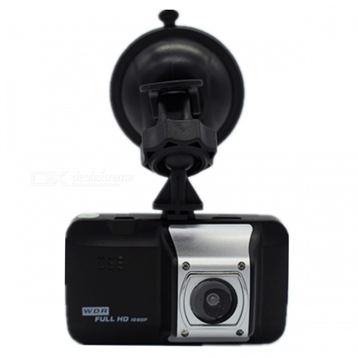KELIMA Portable 3.0 HD 1080P Car DVR Driving Recorder - BlackCar DVRs<br>Form  ColorBlackModelN/AQuantity1 DX.PCM.Model.AttributeModel.UnitMaterialABSChipsetOthers,Well-informedScreen Size3-3.9Other FeaturesMotion Detection,Microphone,HDMIScreen Resolution:1920 x 1080,640 x 480 DX.PCM.Model.AttributeModel.UnitCamera Pixel3-4.9MP DX.PCM.Model.AttributeModel.UnitVideo Resolution1920 x 1080 DX.PCM.Model.AttributeModel.UnitWide Angle120°-149°Camera Lens1Image SensorCMOSImage Sensor Size1/2.7 inchesCamera Pixel5.0MPWide Angle120°Screen Size3.0 inchesISO100Exposure CompensationOthers,+0.0/+1.3/+2.3/+1.0/+4.3/+5.3/+2.0/-2.0/-5.3/-4.3/-1.0/-2.3/-1.3White Balance ModeAutoVideo FormatAVIDecode FormatH.264Video Resolution1080FHD(1920 x 1080)Video Frame Rate25ImagesJPEGStill Image Resolution8M 3264x2448MicrophoneYesMotion DetectionYesAuto-Power OnYesIR Night VisionYesG-sensorYesLoop RecordOthers,1.2.3.5.10Delay ShutdownYesTime StampYes (ON Or OFF)Built-in Memory / RAMNoMax. Capacity32GBStorage ExpansionTFAV InterfaceMini HDMIData interfaceMini USBWorking Voltage   5 DX.PCM.Model.AttributeModel.UnitBattery Capacity180 DX.PCM.Model.AttributeModel.UnitWorking Time5-6 DX.PCM.Model.AttributeModel.UnitMenu LanguageEnglish,French,Japanese,Korean,Chinese Simplified,Chinese TraditionalPacking List1 x Car DVR1 x Car Charger1 x Bracket1 x USB data cable1 x Manual<br>