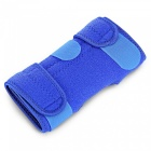 HX004 4-Spring Adjustable Sports Knee Pad for Outdoor Riding - Blue