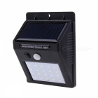 JRLED 0.55W Waterproof Cold White Solar Powered Human Induction Lamp