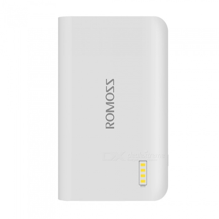 ROMOSS Sense 2S 5000mAh externe Batterie Power Bank mit LED Taschenlampe