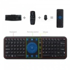 Measy RC7 2.4GHz Wireless Air Mouse Tastatur mit Fernbedienung