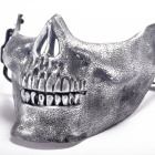 Halloween Skulls Horror Hot Field Mask - Silver