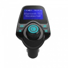 T11 Bluetooth Handsfree Car Kit med MP3 Music Player, FM-sändare