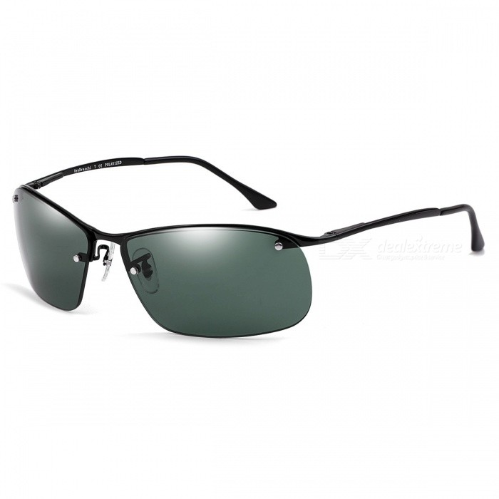 Outdoor Polarized High Definition Nylon Mäns Solglasögon för Driver