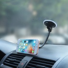 Universal Car Dashboard Long Gooseneck Magnetic Phone Holder - Black