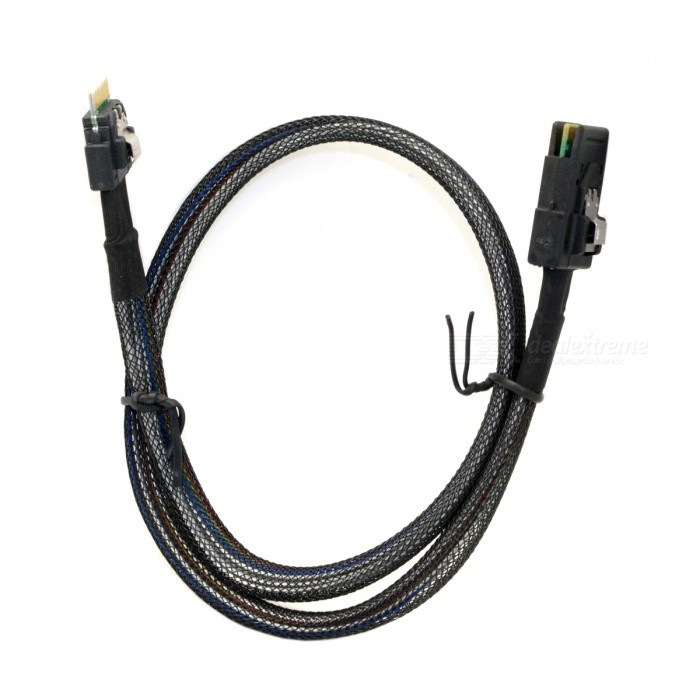 CY-SF-102-05M-Slim-Line-SAS-SFF-8654-4i-38Pin-to-SFF-8087-36Pin-Cable