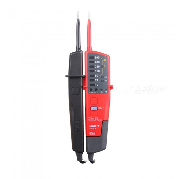 UNI-T-UT18A-Voltage-and-Continuity-Tester-Red-Black