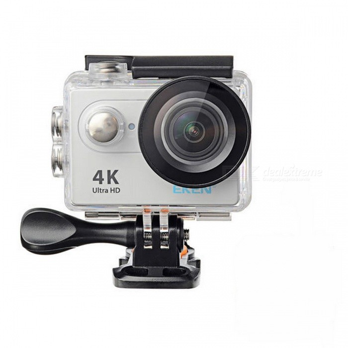 H9 Action Camera Ultra HD 4K WiFi 1080P/30fps 2.0 LCD Screen - Silver