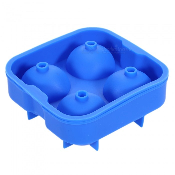 P-TOP DIY Whisky Ice Ball Organosilicone Mold - Dark Blue