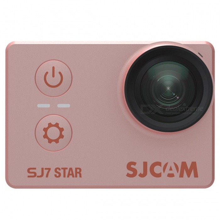 Original SJCAM SJ7 Star WiFi 4K 30FPS Sports Action Camera - Rose GoldSport Cameras<br>Form  ColorRose GoldModelSJ7 StarShade Of ColorGoldMaterialABSQuantity1 DX.PCM.Model.AttributeModel.UnitImage SensorCMOSImage Sensor SizeOthers,1/2.3 inchesAnti-ShakeYesFocal Distance/ DX.PCM.Model.AttributeModel.UnitFocusing Range/Effective Pixels12MPMax. Pixels16 DX.PCM.Model.AttributeModel.UnitImagesJPGStill Image Resolution16MPVideoMP4Video Resolution4K 30fps, 2016P 30fps, 2.7K 30fps, 2.5K 60/30fps, 1440P 60/30fps, 1080P, 120/60/30fps, 960P 120/60/30fps, 720P 240/120/60/30fpsVideo Frame RateOthers,240/120/60/30fpsCycle RecordYesISONoExposure CompensationNoSupports Card TypeTFSupports Max. Capacity128 DX.PCM.Model.AttributeModel.UnitLCD ScreenYesScreen TypeOthers,LCDScreen Size2 DX.PCM.Model.AttributeModel.UnitBattery Measured Capacity 1000 DX.PCM.Model.AttributeModel.UnitNominal Capacity1000 DX.PCM.Model.AttributeModel.UnitBattery included or notYesSupported LanguagesEnglish,Simplified Chinese,Traditional Chinese,Russian,Portuguese,Spanish,Italian,Korean,French,German,Romanian,Others,Japanese, PolishPacking List1 x Camera1 Set x Accessories<br>
