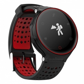 Eastor X2 Bluetooth Smart Watch Heart Rate Monitoring - Red