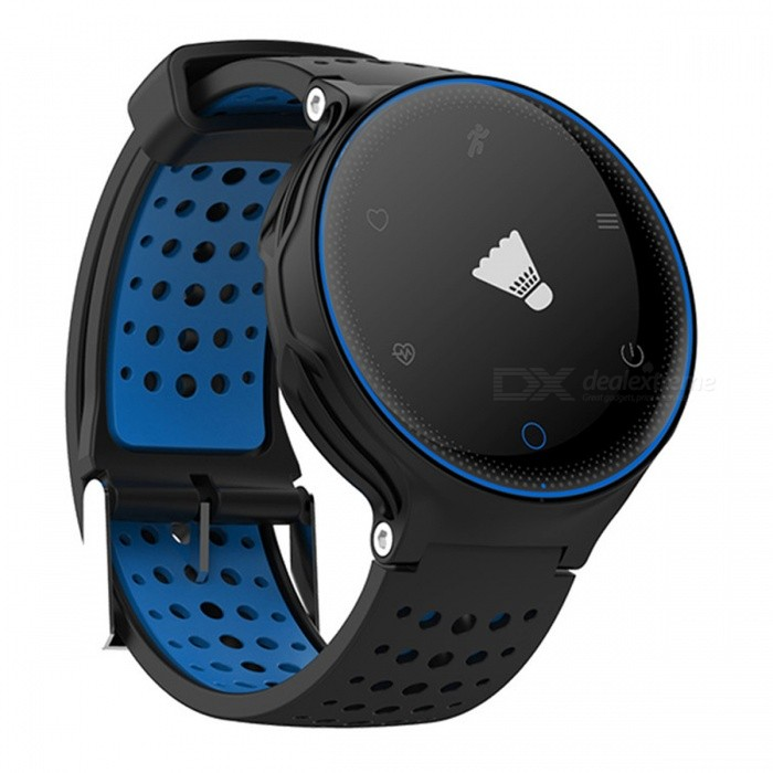 Eastor X2 Bluetooth Smart Watch Heart Rate Monitoring - BlueSmart Watches<br>Form  ColorBlueModelX2Quantity1 DX.PCM.Model.AttributeModel.UnitMaterialPlasticShade Of ColorBlueCPU ProcessorNordic NRF51822Screen Size0.96 DX.PCM.Model.AttributeModel.UnitScreen Resolution/Touch Screen TypeOthers,OLEDBluetooth VersionBluetooth V4.0Compatible OSAndroid, IOSLanguageEnglishWristband Length25.6 DX.PCM.Model.AttributeModel.UnitWater-proofIP67Battery ModeReplacementBattery TypeLi-ion batteryBattery Capacity380 DX.PCM.Model.AttributeModel.UnitStandby Time180 DX.PCM.Model.AttributeModel.UnitPacking List1 x Smart Watch1 x Charging Cable1 x Manual<br>