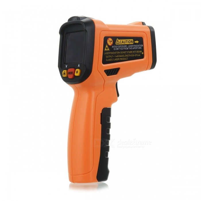 Buy PEAKMETER PM6530B -50~550 Degree Non-Contact Infrared Thermometer with Litecoins with Free Shipping on Gipsybee.com