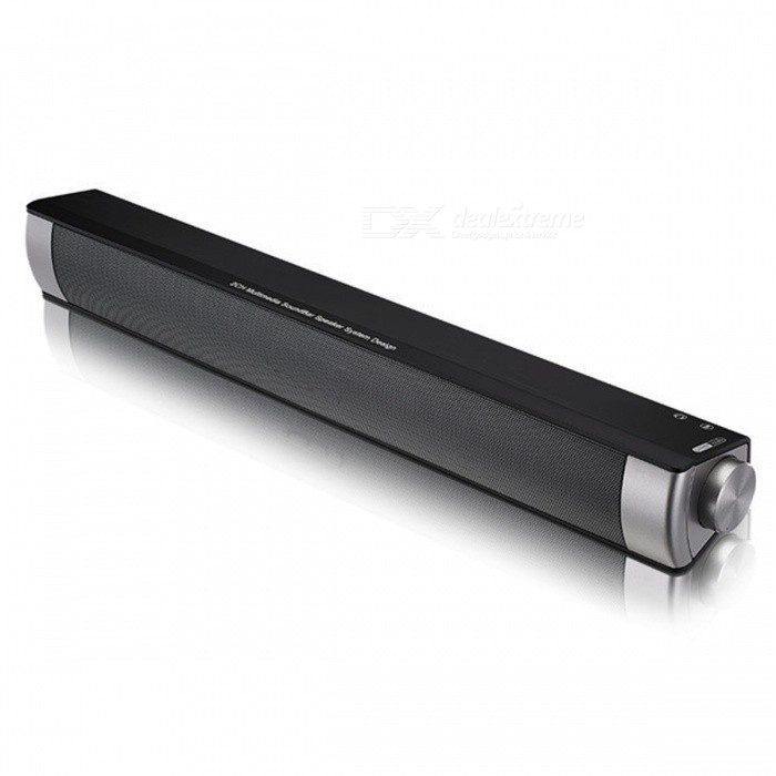 Alto-falante sem fio Soundbar Portable Speaker Bluetooth - Ouro