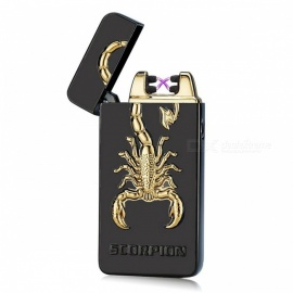 ZHAOYAO-Scorpion-Style-Double-Arc-USB-Rechargeable-Cigarette-Lighter