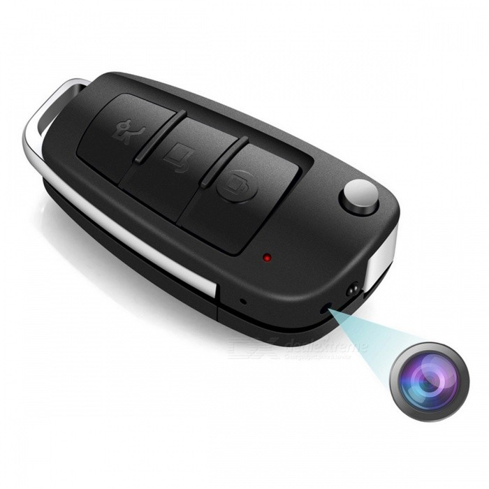 Buy SC820 Mini Portable Car Key with 1080P Hidden Camera with Litecoins with Free Shipping on Gipsybee.com
