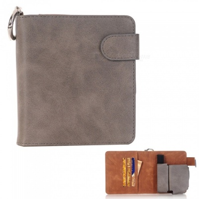 S1 Protective PU Leather E-cigarette Bag Case / Cards Holder - Grey