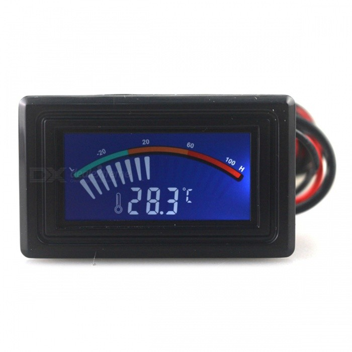 - 50~110C Digital LCD Pointer Car ThermometerTemperature Instruments<br>Form  ColorBlackModelN/AQuantity1 DX.PCM.Model.AttributeModel.UnitMaterialN/AScreen Size- DX.PCM.Model.AttributeModel.UnitCelsius Range-50°C ~ 110°CFahrenheit Range-58°F ~ 230 DX.PCM.Model.AttributeModel.UnitAuto Power OffNoPacking List1 x Digital Thermometer<br>