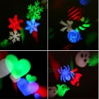 YWXLight Non-Waterproof Snowflake LED Projection Light (US Plug)
