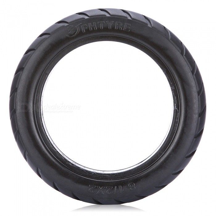 Electric-Scooter-Solid-Tires-for-Diameter-165-Hub-Black