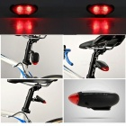 Solenergi Mountain Bike Cykel LED Baklampa Utomhus Sport