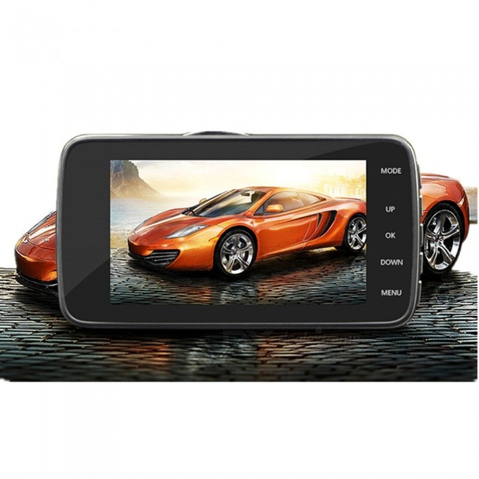 KELIMA-4-HD-1080P-Car-Driving-Recorder-DVR-withDual-Lens-Black