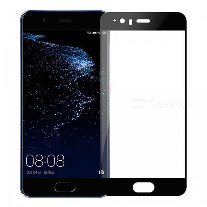 Naxtop Tempered Glass Screen Protector for Huawei P10 - BlackScreen Protectors<br>Form  ColorBlackScreen TypeGlossyModelN/AMaterialTempered GlassQuantity1 DX.PCM.Model.AttributeModel.UnitCompatible ModelsHuawei P10Features2.5D,Fingerprint-proof,Scratch-proof,Tempered glassPacking List1 x Tempered glass film1 x Wet wipe1 x Dry wipe1 x Dust absorber<br>