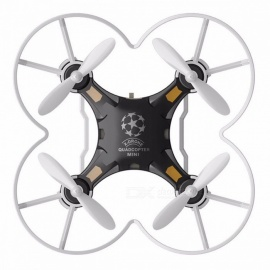 FQ777-124 Mini RC Quadcopter Drone with Headless Mode - Black