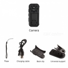 L6 1080P HD Wi-Fi Mini Portable Camera - Black