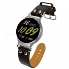 JSBP KW98 Android Smart Watch mit 512MB RAM, 8GB ROM, GPS - Schwarz