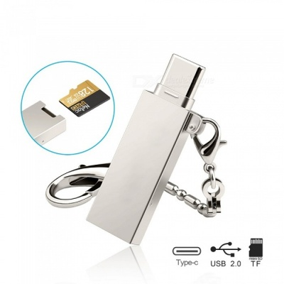Kitbon 2-in-1 USB 3.1 Type-C / USB 2.0 TF / Micro SD Card Reader