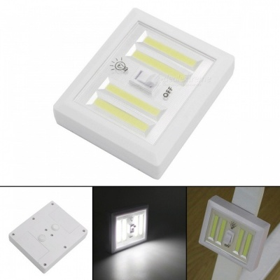 JRLED 5W COB Cold White LED Wall Bedside Lamps (1 PC)