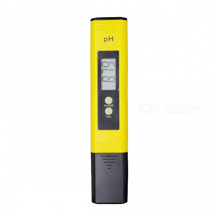 Protable LCD Digital PH Meter Tester PenTesters &amp; Detectors<br>Form  ColorYellowModelN/AQuantity1 DX.PCM.Model.AttributeModel.UnitMaterialPlasticPowered ByOthers,AG 13  BatteriesBattery Number2Battery included or notNoPacking List1 x PH meter1 x Instruction manual (English)<br>