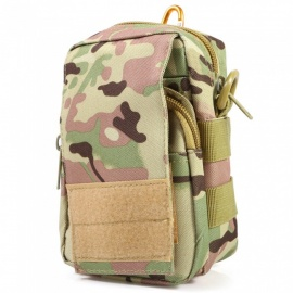 Multi-Functional Outdoor Tactical Small Pocket - Jungle Camouflage