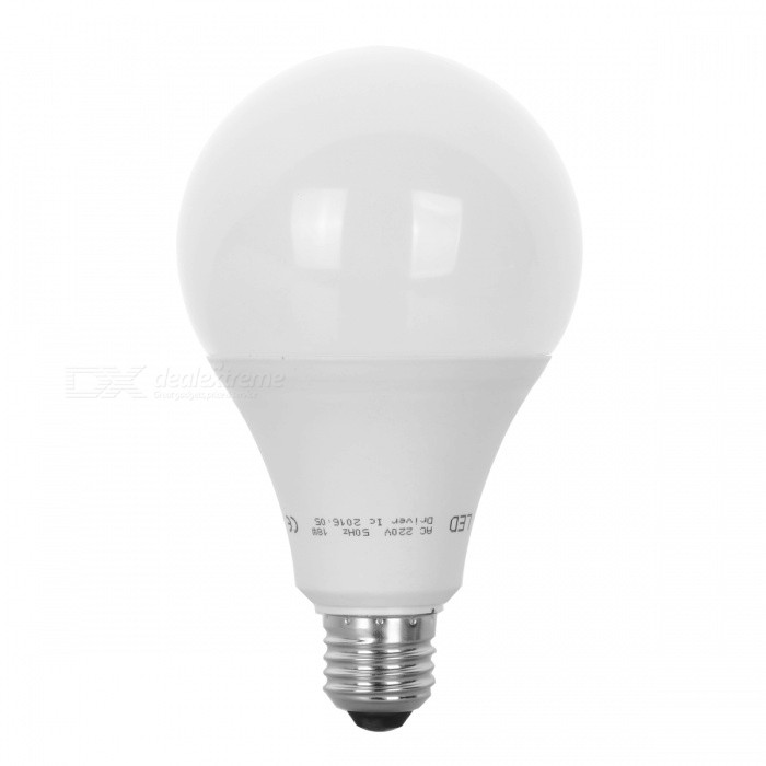 LED Bulb Lamp E27 15W High Brightness Light Bulb - Warm White / 6PCSE27<br>Color BINWarm White-15WMaterialPCForm  ColorWhiteQuantity6 DX.PCM.Model.AttributeModel.UnitPowerOthers,15WRated VoltageAC 220-240 DX.PCM.Model.AttributeModel.UnitConnector TypeE27Chip BrandEpistarChip Type2835Emitter TypeLEDTotal Emitters26Actual Lumens300-900 DX.PCM.Model.AttributeModel.UnitColor Temperature12000K,Others,2800-3500KDimmableNoBeam Angle270 DX.PCM.Model.AttributeModel.UnitPacking List6 x LED Bulbs<br>