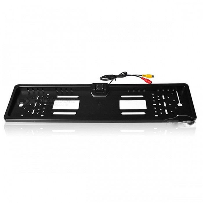 Waterproof European License Plate Frame with Car Rear View Camera ...