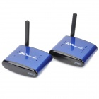 PAT-530-58GHz-Wireless-AV-STB-TransmitterReceiver-with-IR-Signal-Extension-Wire-Set-(Blue)