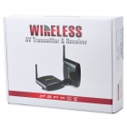 PAT-530 5.8GHz Wireless A/V STB Transmitter/Receiver with IR Signal Extension Wire Set (Blue)