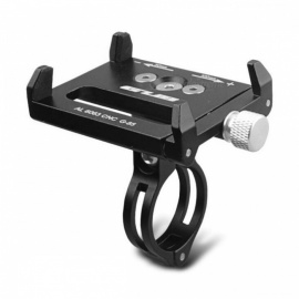 GUB G-85 Aluminum Alloy Bike Bicycle Phone Holder - Black
