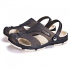 Mens-Summer-Casual-Anti-Slip-Beach-Slippers-Shoes-BrownSize-43
