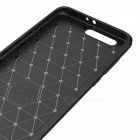 Dayspirit Wire Drawing Carbon Fiber TPU Väska för Huawei Honor 9