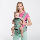 Multifunction-Breathable-Newborn-Baby-Infant-Carrier-Sling-Green